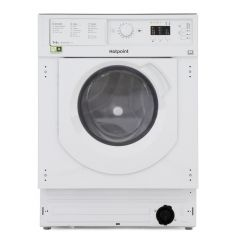 Hotpoint BIWDHL7128 7kg + 5kg 1200 Spin Built-In Washer Dryer
