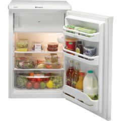 Hotpoint RSAAV22P 55cm Under Counter Fridge + Freezer Box