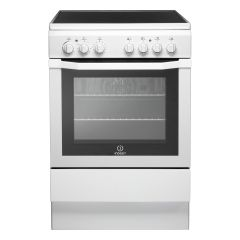 Indesit I6VV2AW 60cm Electric Single Cavity Cooker + Ceramic Hob