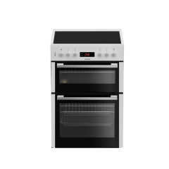 Blomberg HKN65W 60cm Double Oven Electric Cooker + Ceramic Hob