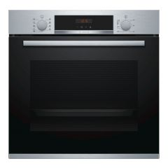 Bosch HBS573BS0B Built-In Electric Single Oven - Pyrolytic cleaning