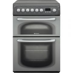 Hotpoint 60HEG 60Cm Electric Cooker - Graphite