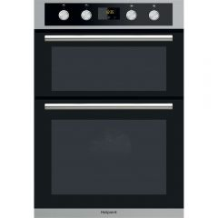 Hotpoint DD2844CIX Built-In Double Oven - Stainless Steel