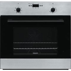 Hotpoint MMY50IX Built-In Single Electric Oven - Stainless Steel