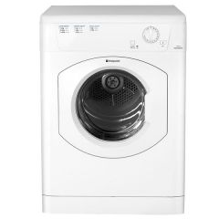 Hotpoint TVHM80CP 8kg Vented Timed Tumble Dryer