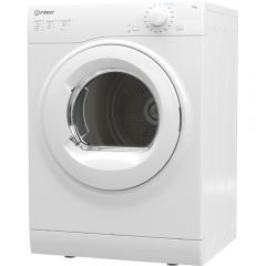 Indesit I1D80WUK 8Kg Vented Tumble Dryer With Timer - White