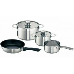 Neff Z9442X0 High Quality Saucepan Set Suitable For Induction Hobs - Set Of 4