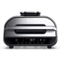 Ninja AG551UK Foodi MAX Health Grill + Air Fryer - Black/Stainless Steel