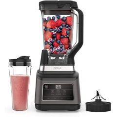 Ninja BN750UK 2-in-1 Blender with Auto-iQ - Black/Sliver
