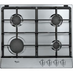 Whirlpool AKR311IX 4 Burner Gas Hob - Stainless Steel